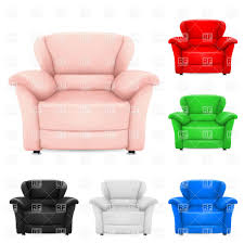 Pink Leather Chair by Comfortable Leather Armchair Vector Image 7757 U2013 Rfclipart