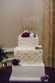 square wedding cakes rosette wedding cake square buttercream wedding cake purple