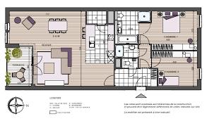 appartement 2 chambres plan appartement 2 chambres appartement chambres with plan
