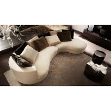 Leather Curved Sectional Sofa by Curved Sofa Sectional Uk Centerfieldbar Com