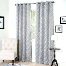 Suzani Curtain Suzani Curtains Blackout Silver Polyester Darkening Curtain In W X