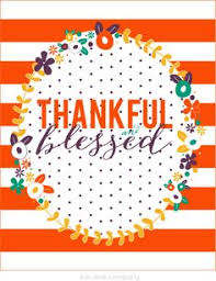 thankful placemats so many blessings be thankful everyday free 5x7 printable by