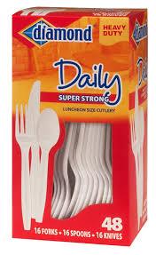 plastic cutlery diamond brands plastic cutlery