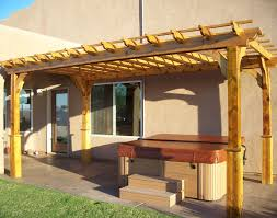 Pergola Post Base by Red Cedar Vintage Classic Free Standing Pergolas Pergolas By