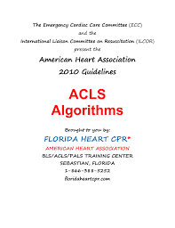 acls cover page florida heart cpr