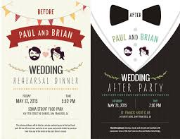 wedding after party invitation wording ideas cocktail party