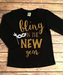 new years t shirt bling in the new years sleeve shirt celebration shirt