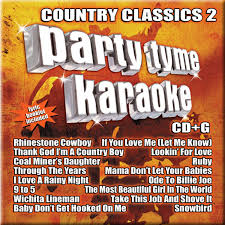 Party Tyme Karaoke Christmas Pack - country classics party pack party tyme karaoke