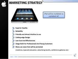 apple ipad business plan