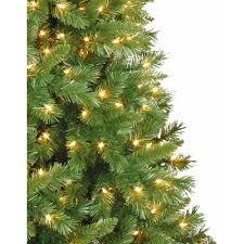 artificial tree pre lit 7 5 kennedy fir clear lights