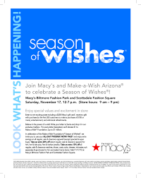 write a letter to santa for make a wish arizona at macy u0027s