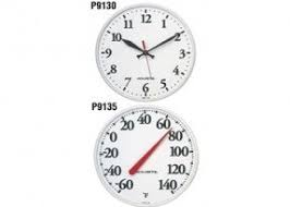 Outdoor Pedestal Clock Thermometer Outdoor Clock And Thermometer Set Foter