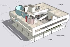 villa savoye drawings google search u2026 pinteres u2026
