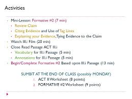 romeo u0026 juliet act ii formative assessment 2 act iii i ppt