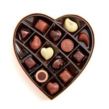 chocolate heart box s day paper heart chocolate gift box 14 pc godiva