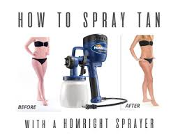 diy spray tan with a paint sprayer all things thrifty