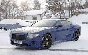 2018 bentley continental gt is becoming less camera shy