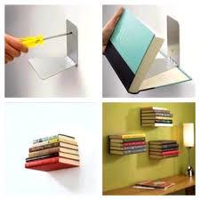 bedroom divine diy floating bookshelves the tiny life book shelf