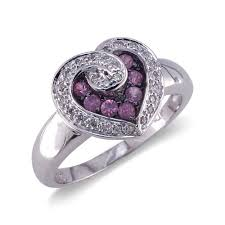 Heart Shaped Wedding Rings by Heart Shaped Pink Diamond Wedding Rings Miami The Wedding