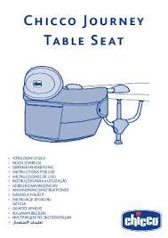 si e de table chicco notice chicco siège de table chicco journey mode d emploi notice