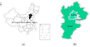 Tianjin China Map by Sustainability Free Full Text Economic Transformation In The