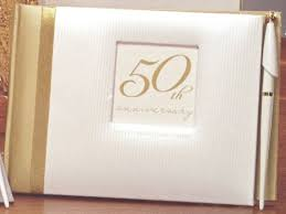 anniversary guest book 50th wedding anniversary guest book 50th anniversary guest book
