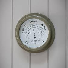 Garden Wall Clocks by Garden Barometer Home U0026 Garden Cuckooland