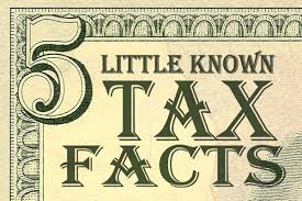 5 known facts about taxes