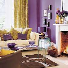 purple and gold living room love this elegant and sophisticated