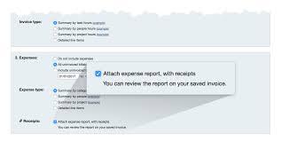 Expenses Reports by Add Expense Reports To Invoices Automatically Harvest