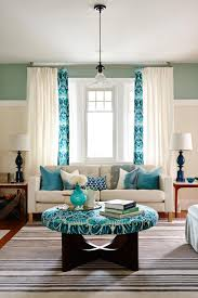 Teal And Gold Bedroom by 20 Colorful Living Rooms To Copy Hgtv