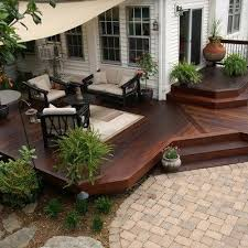 Backyard Deck Pictures by Best 20 Landscaping Around Deck Ideas On Pinterest U2014no Signup