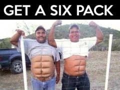 Six Meme - new years resolution get a six pack weknowmemes