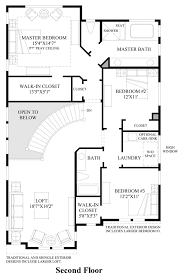 Floor Plans With Spiral Staircase Kirkland Woods The Blanchard Home Design