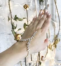 bridal bracelet with ring images Gold hand chain bracelet slave bracelet ring and bracelet chain jpg