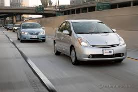 2008 toyota prius hybrid 2008 toyota prius vs 2008 toyota camry hybrid comparison test
