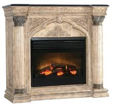 Electric Fireplace With Mantel Ambella Arch Electric Fireplace Mantel Ventless Fireplace Pros