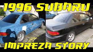 subaru coupe rs 1996 subaru impreza brighton coupe youtube
