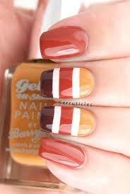9 festive fall nail designs
