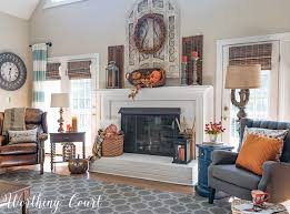 get inspired by my easy fall decorating worthing court