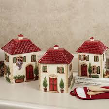 Red Kitchen Canisters by Furniture Home Red Kitchen Canister Sets Ideas Attractive And