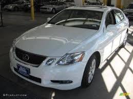 lexus gs300 interior black 2006 crystal white lexus gs 300 awd 1199682 gtcarlot com car
