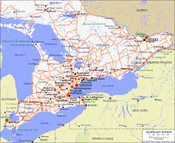 map of southeast canada southern ontario road map hd pictures images and wallpapers
