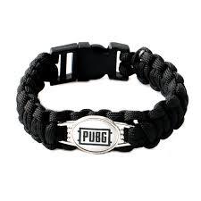 black survival bracelet images Black paracord emergency pulsera cordon mujer parachute braided jpg