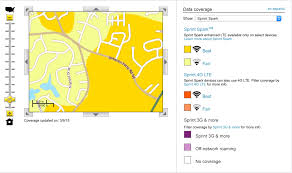 Verizon Coverage Maps Sprint Spark Coverage Map Sprint Spark Coverage Map Verizon
