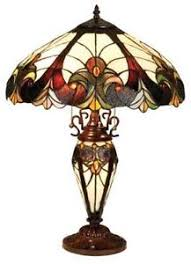 stained glass torchiere l shades stained glass l shade ebay