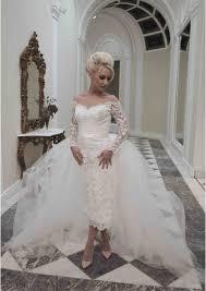 midi wedding dresses stacees fabulous 2017 designs