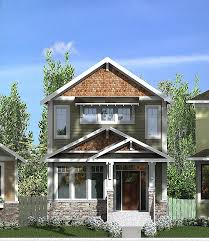 craftsman home plan house plan fresh narrow lot craftsman style house plans narrow