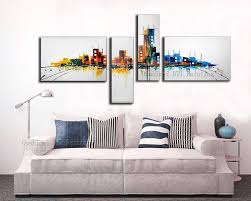 Abstract Home Decor Aliexpress Com Buy Handmade Modern Oil Painting Hang Paintings