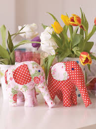 free soft toy sewing patterns pretty elephant toy sewing project